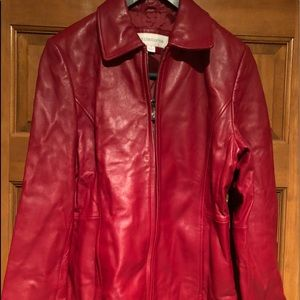 Womens Liz Claiborne Leather Jacket